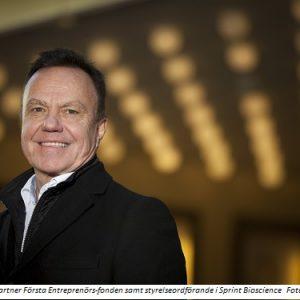 Rune Nordlander partner Första Entreprenörs-fonden samt styrelseordförande i Sprint Bioscience